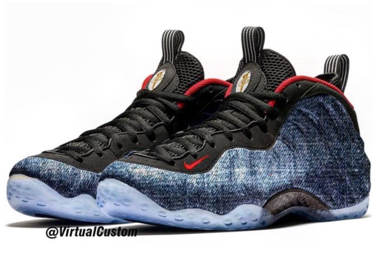 """f95502685684bc NIKE AIR FOAMPOSITE ONE """"DENIM"""" DROPS IN SEPTEMBER — iLL Sneakers ..."""