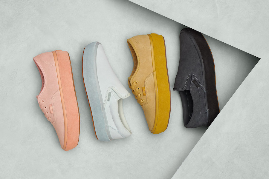 THE ALL-NEW VANS PLATFORM SUEDE OUTSOLE