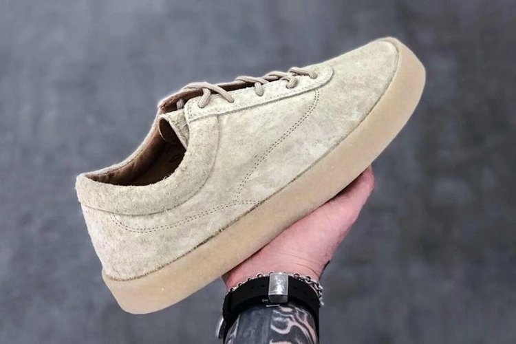 bbc532e0ce04d THE YEEZY SEASON 6 SNAGGY SUEDE CREPE SNEAKER — iLL Sneakers ...