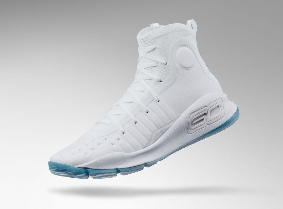 steph curry all white shoes