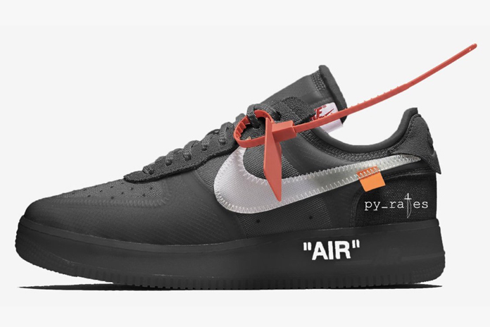 OFF-WHITE X NIKE AIR FORCE 1 LOW IN