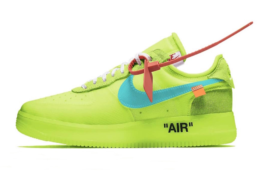 air force 1 gialle