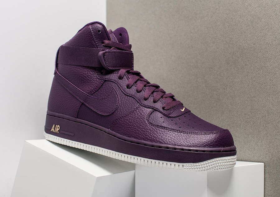 """NIKE AIR FORCE 1 HIGH DROPS IN """"NIGHT"""