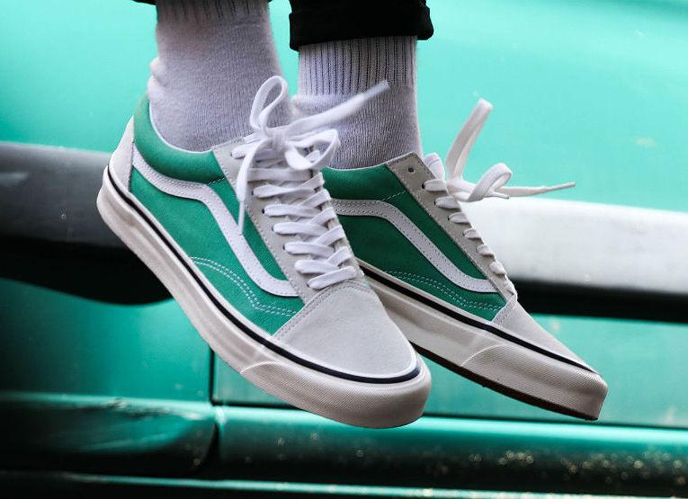 0e52e8d62f2537 VANS OLD SKOOL 36 DX ANAHEIM FACTORY OG JADE — iLL Sneakers ...