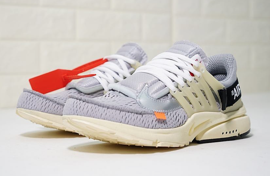 Off White X Nike Air Presto Dropping In Grey Ill Sneakers