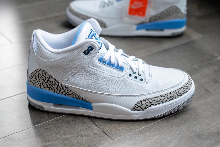 """THE AIR JORDAN 3 """"UNC"""" PE WITH LIMITED"""