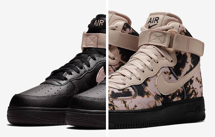 "NIKE AIR FORCE 1 HIGH ""ACID WASH PRINT"" PACK — iLL Sneakers"