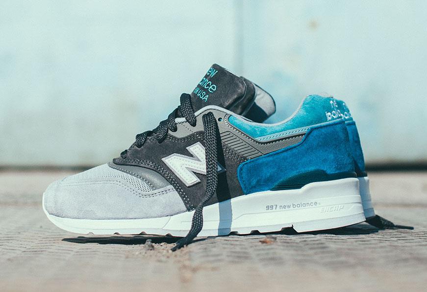 new balance 997 blue grey