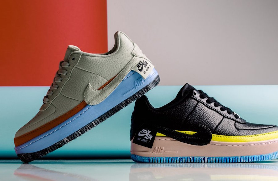 Nike Air Force 1 Jester Receives Multicolored Options for