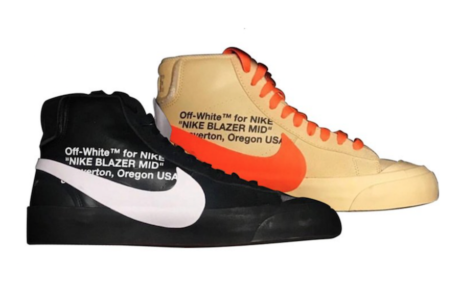 """legal Puntualidad entusiasta  OFF-WHITE X NIKE BLAZER MID """"SPOOKY"""" PACK — iLL Sneakers ..."""