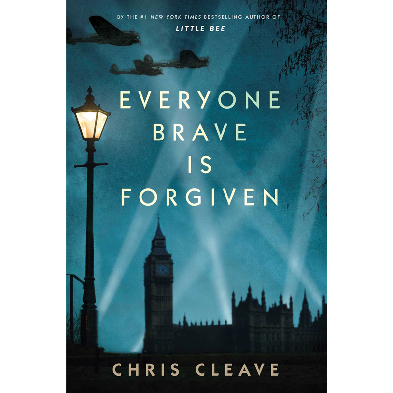 EVERYONE BRAVE IS FORGIVEN - by Chris CleaveAMAZONGOODREADS