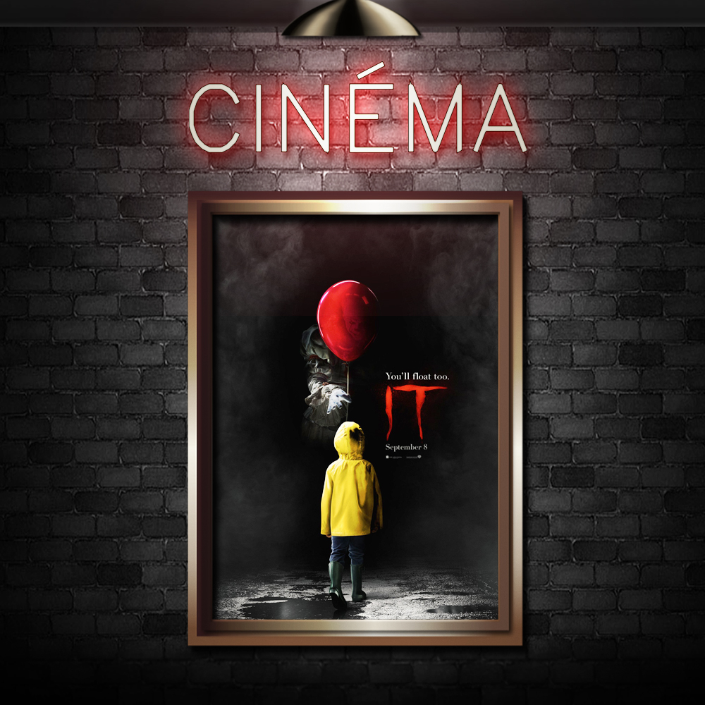 IT -  Directed by Andy MuschiettiStarring  Bill Skarsgård, Jaeden Lieberher