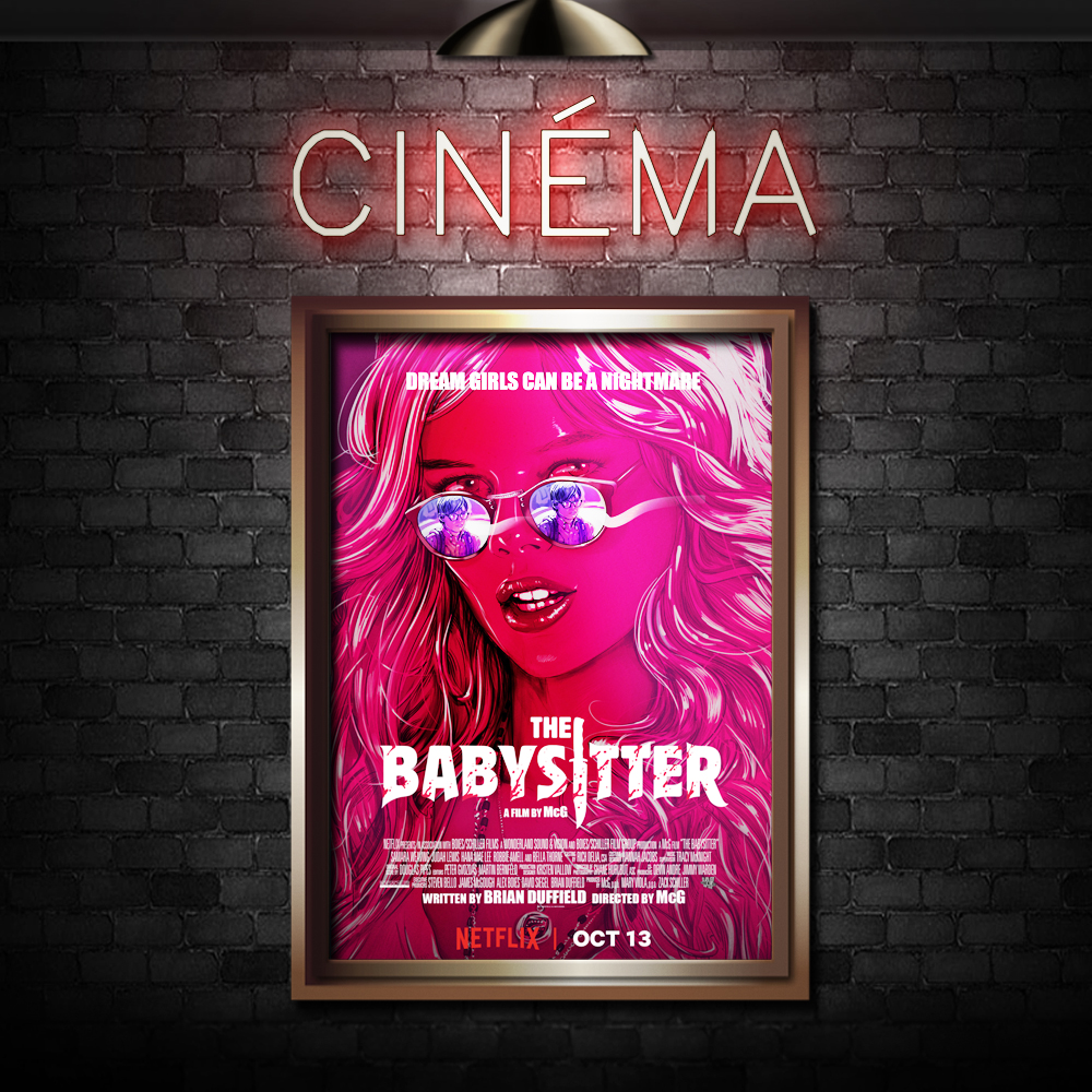 THE BABYSITTER - Directed by McGStarring Judah Lewis and Samara Weaving