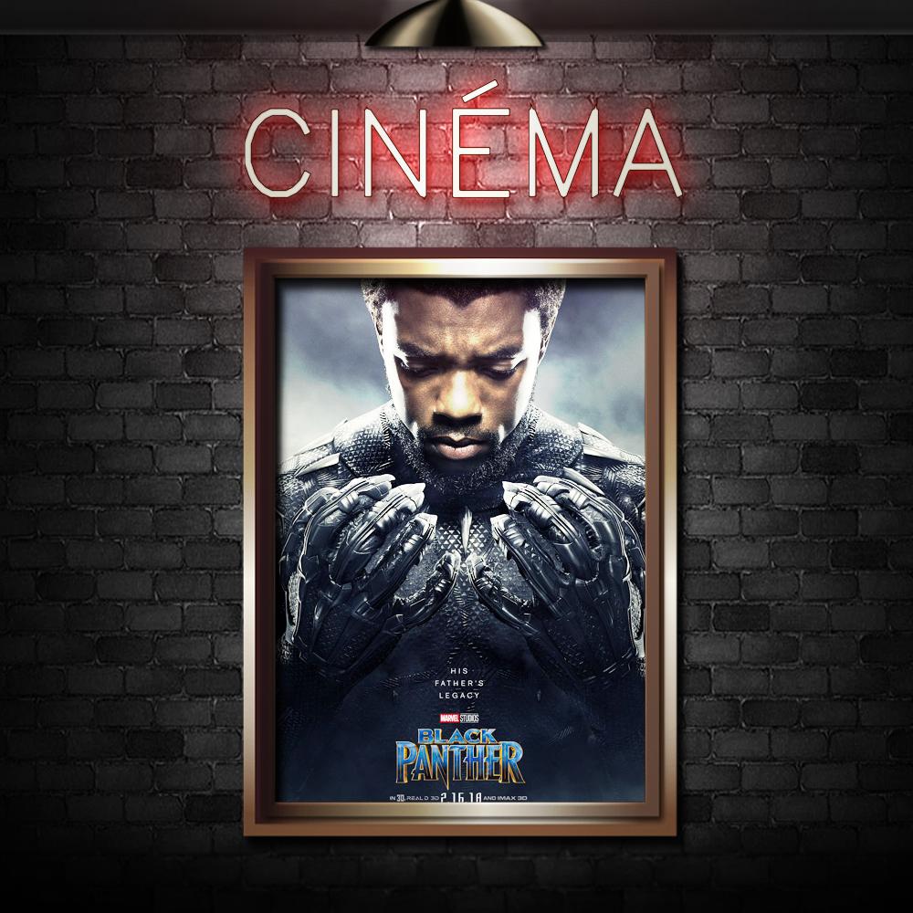 BLACK PANTHER - Directed by Ryan CooglerStarring Chadwick Boseman,Michael B. Jordan,Lupita Nyong'o
