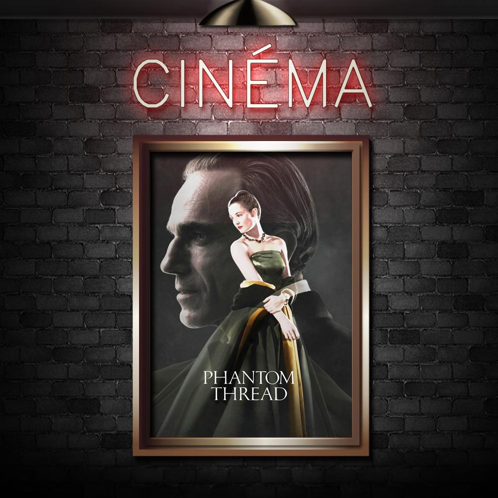 PHANTOM THREAD - Directed by Paul Thomas AndersonStarring Daniel Day-Lewis, Lesley Manville, Vicky Krieps
