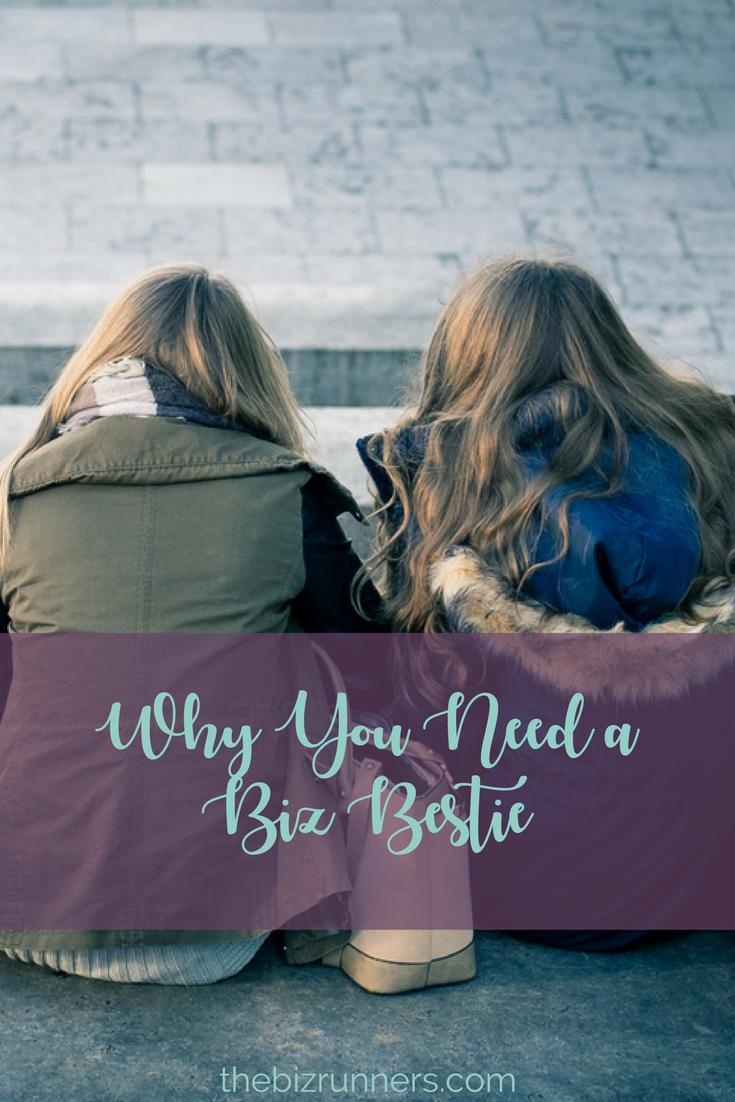 biz bestie, how to find a business best friend, business with friends