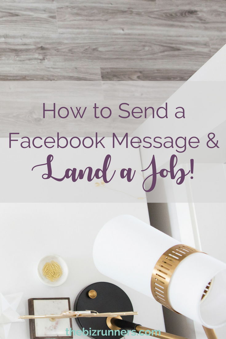 facebook messages, online business, starting a business, landing your first job, virtual assistant business