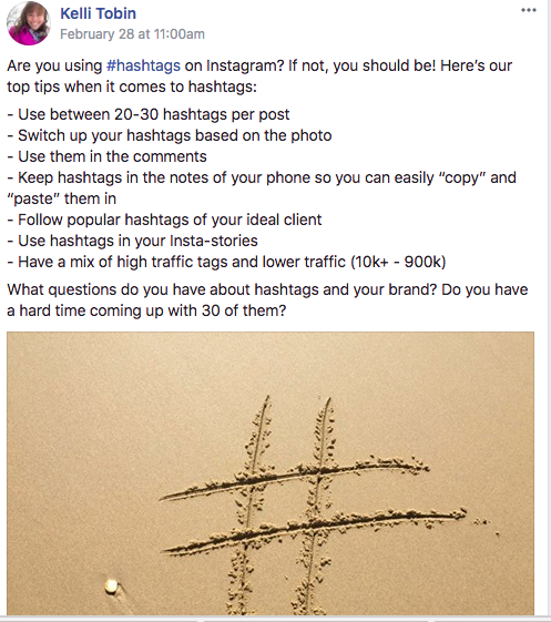 hashtags, community group, facebook, online business owner, social media