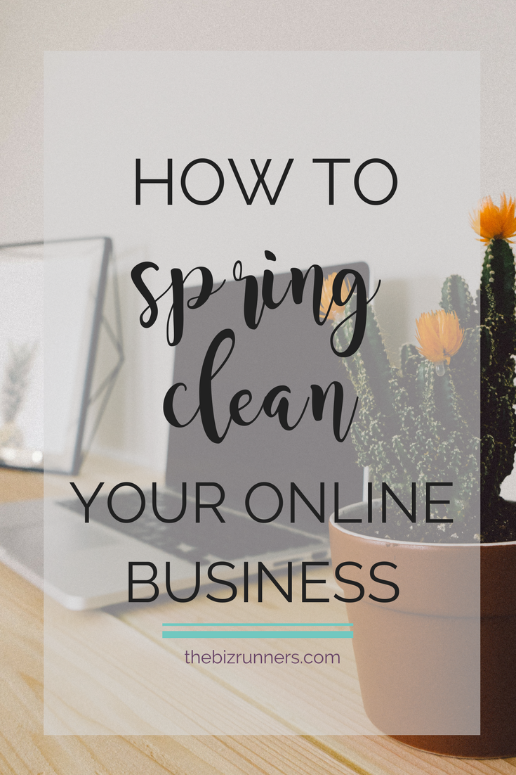 spring cleaning, business tips, online business manager