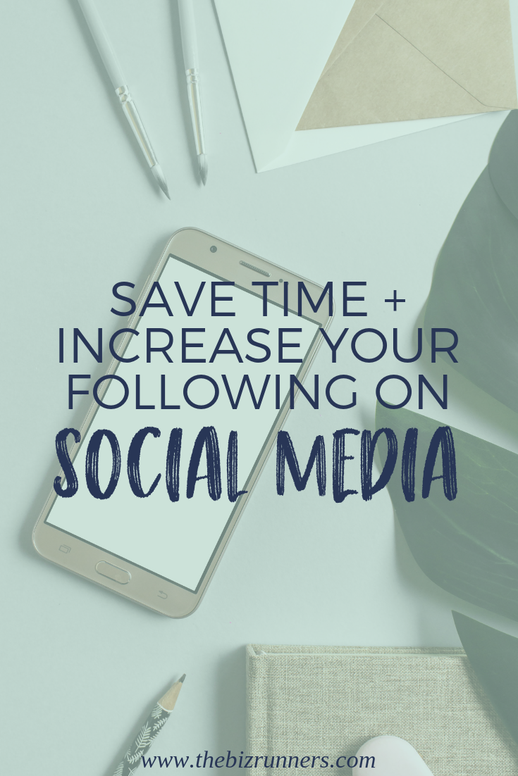 Social media, save time, social media hack, followers