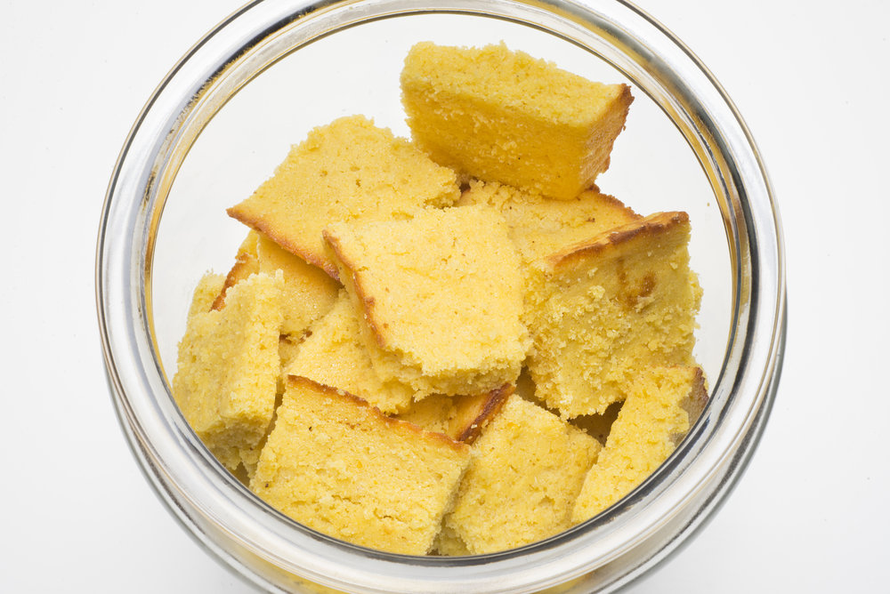 JAR OF CORNBREAD SQUARES