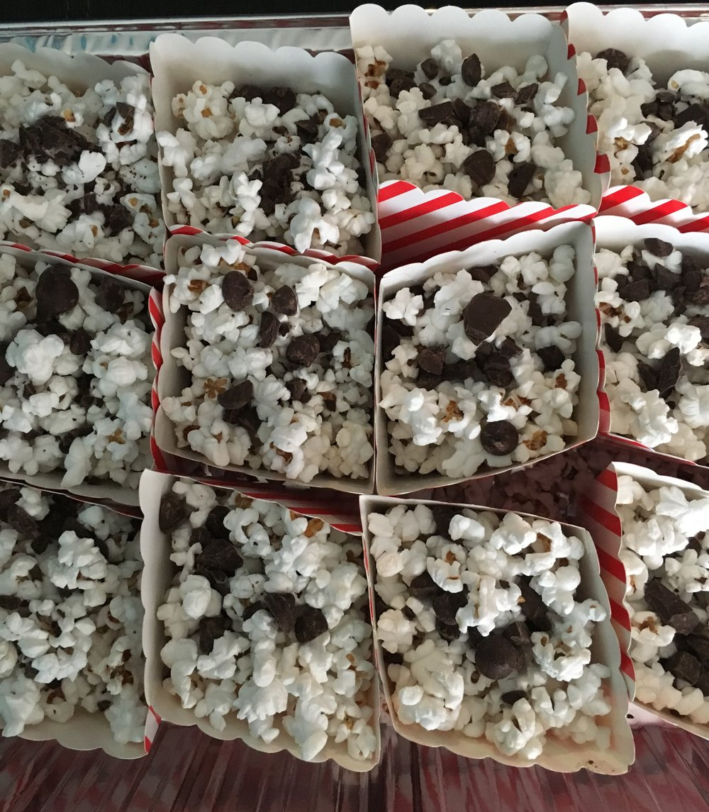 CHOCOLATE CHIP POPCORN