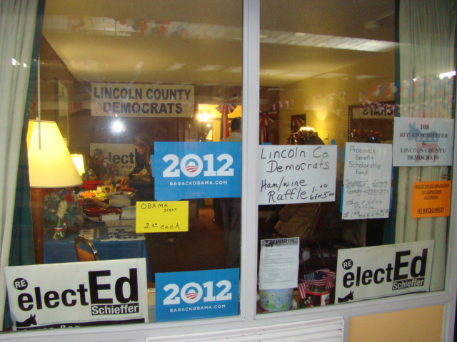 Enthusiastic support shown for our local candidates!