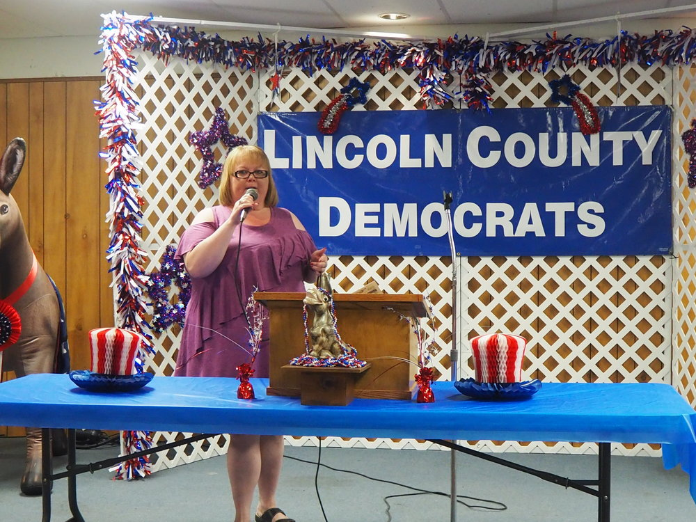 Crystal Hall, running unopposed for County Clerk, talks on the importance of her position in providing the public with well-run, fair elections.