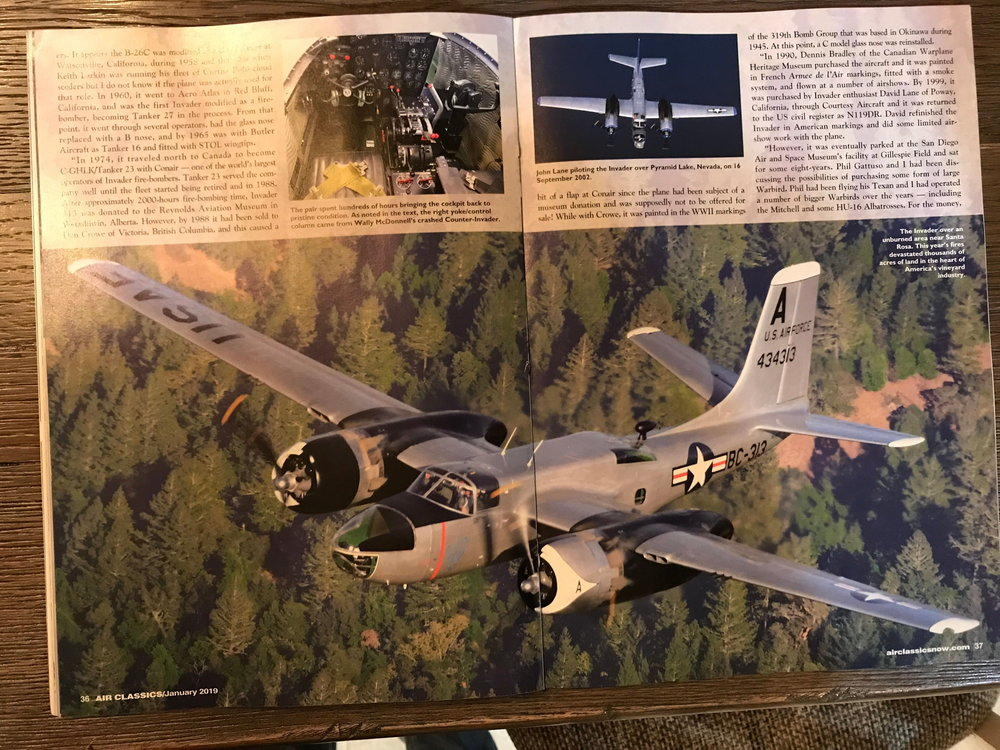 Air Classics January 2019 - Pages 36 and 37