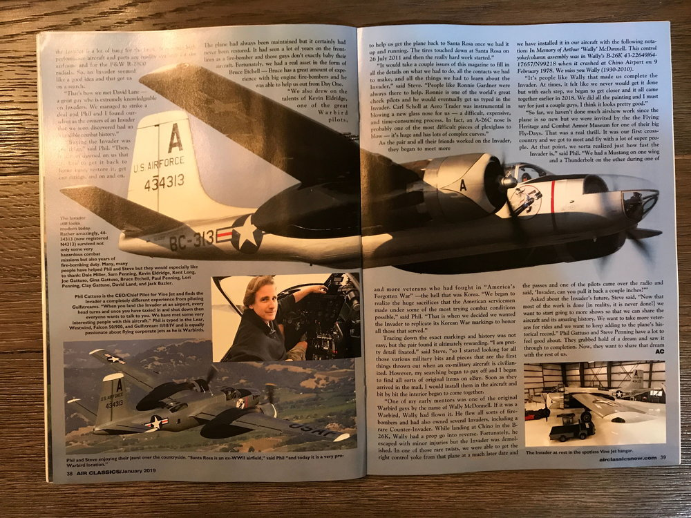 Air Classics January 2019 - Pages 38 and 39