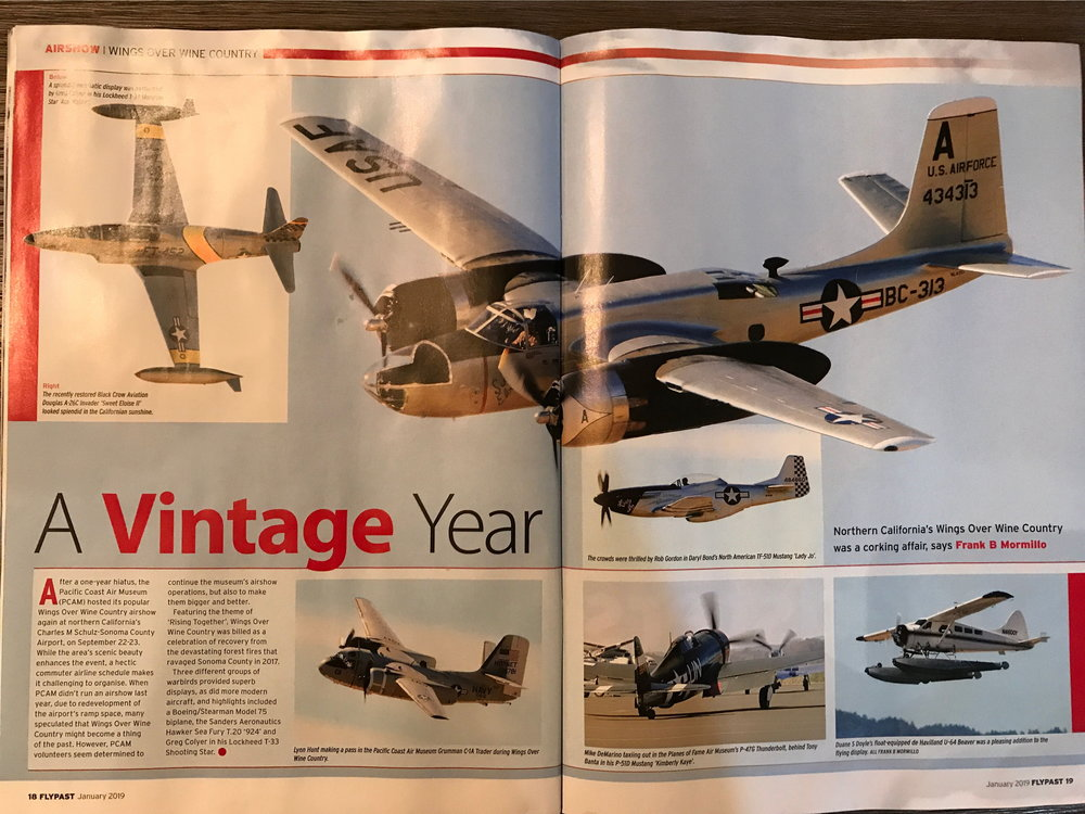FlyPast January 2018 - Pages 18 and 19