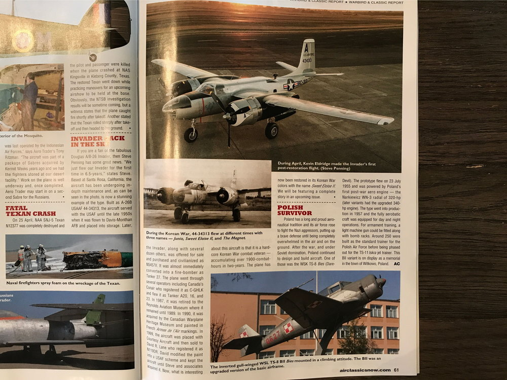 Air Classics July 2018 - Page 60 and 61