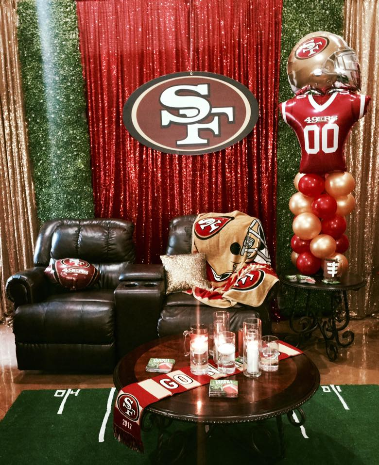 49ers Birthday Party