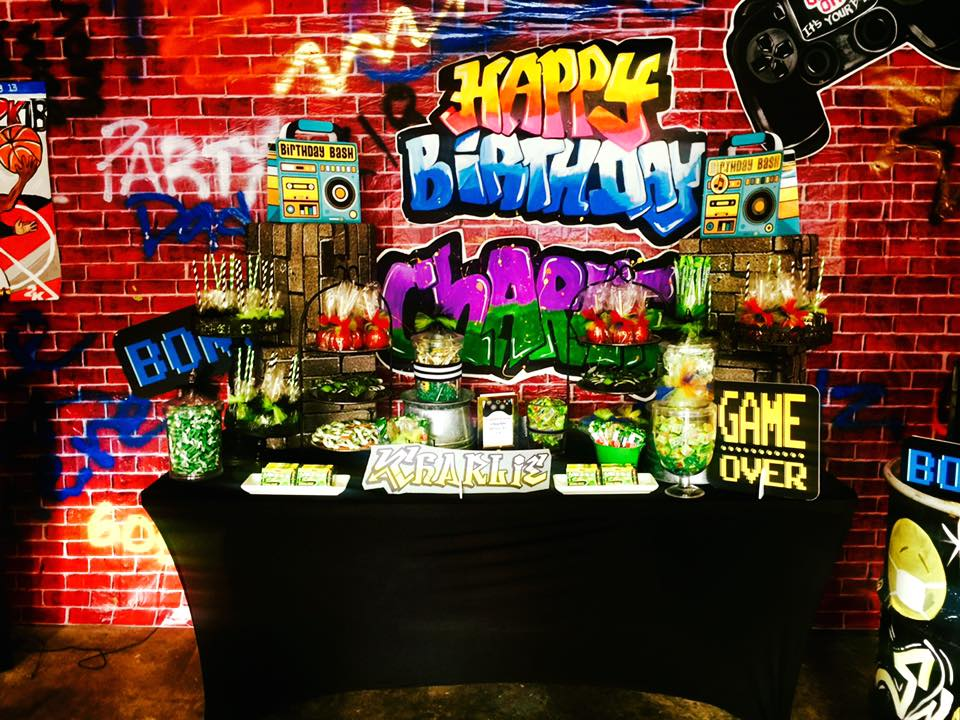 Video Arcade 13th Birthday Party