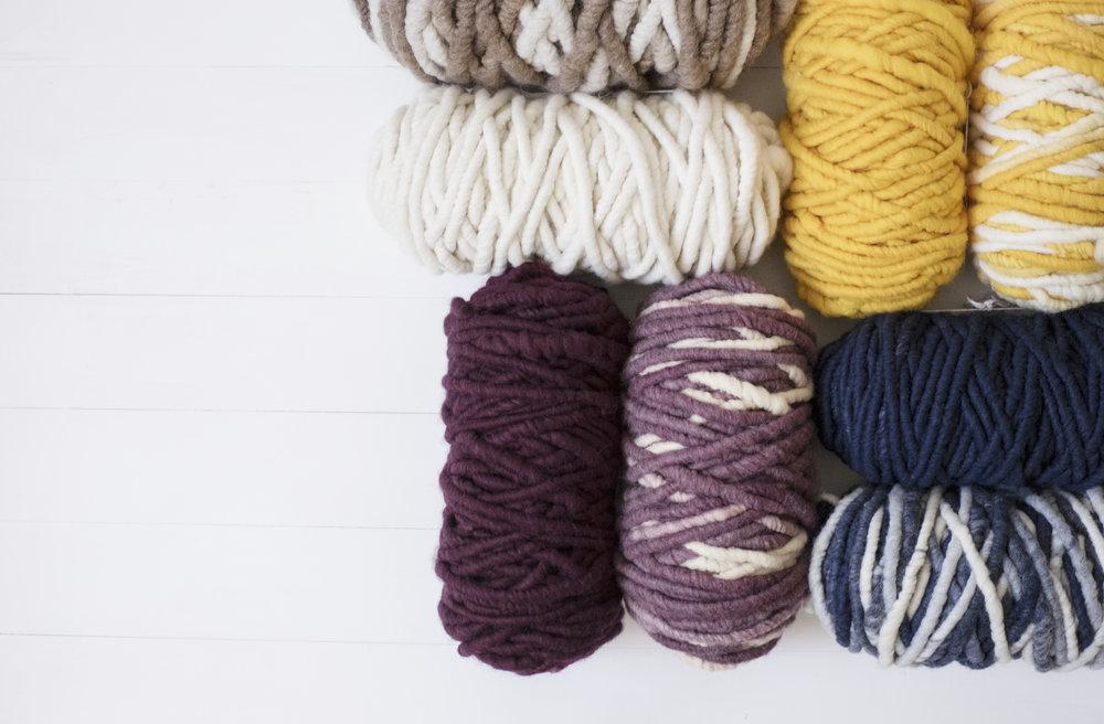 Merino Rug Yarn -