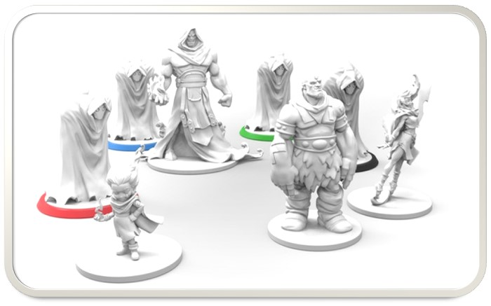 Miniatures are an add-on!