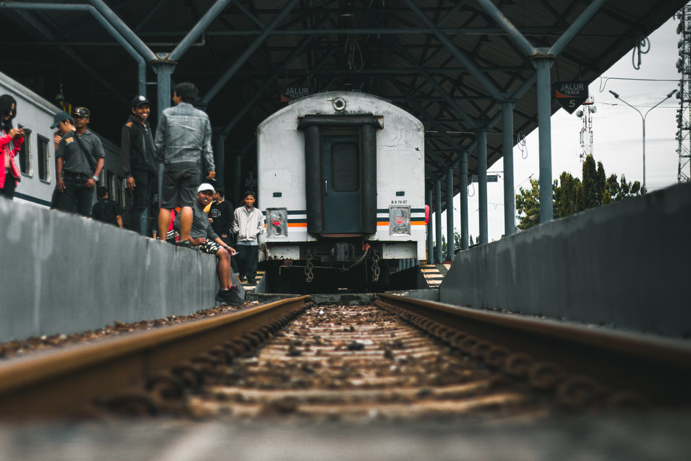 A railroad station in Indonesia. Public-Private Partnerships can continue to connect the small island to the outside world through ports, railings, and other infrastructure projects.
