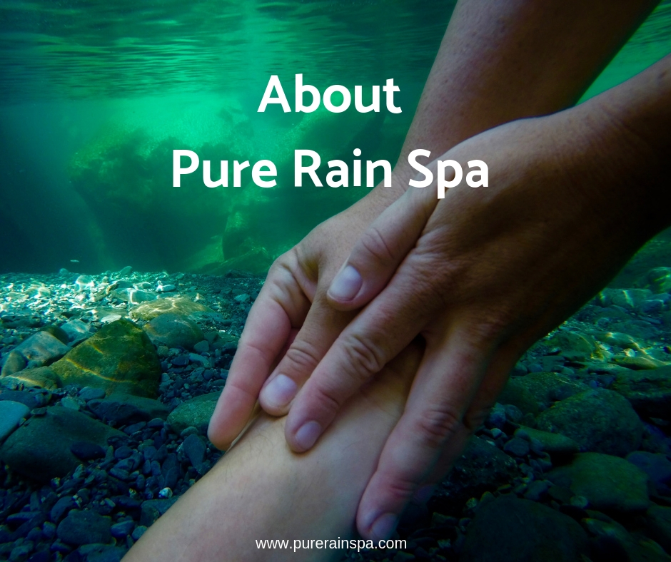 Click on the image above to learn about the ideas and philosophies that make Pure Rain Spa the right choice for you!