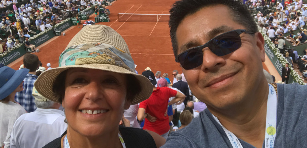 Historic day at the French Open 2017. Nadal got his DECIMA