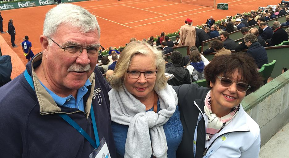 Centre Court,Roland Garros 2016