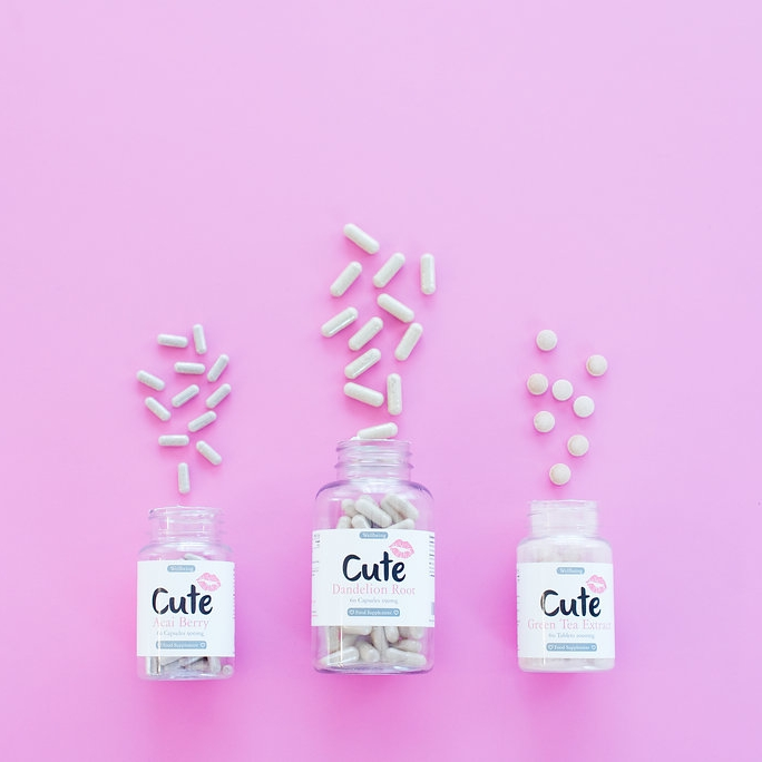 cute nutrition - Cute nutrition was one of our favorite PINK shoots! Give us a product and we'll make it pretty, Doll!