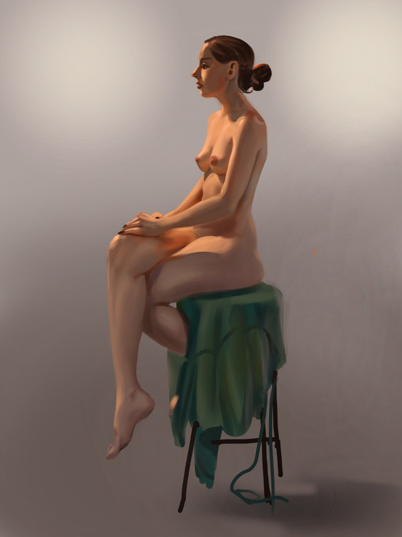 Portrait and Figure studies -