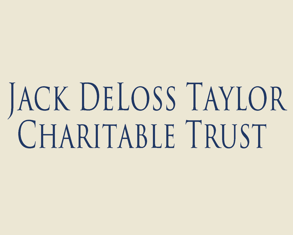 The Jack Deloss Taylor Charitable Trust provided seed money for Rainaskot and continuing support for Barbandi.