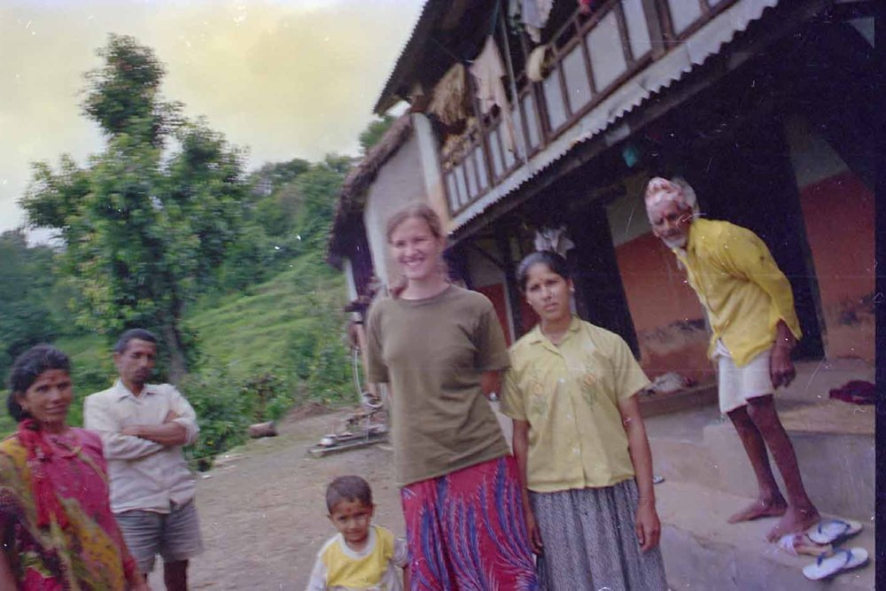 Natasha and Bibek 1995 photo by Bishnu Poudel.jpg
