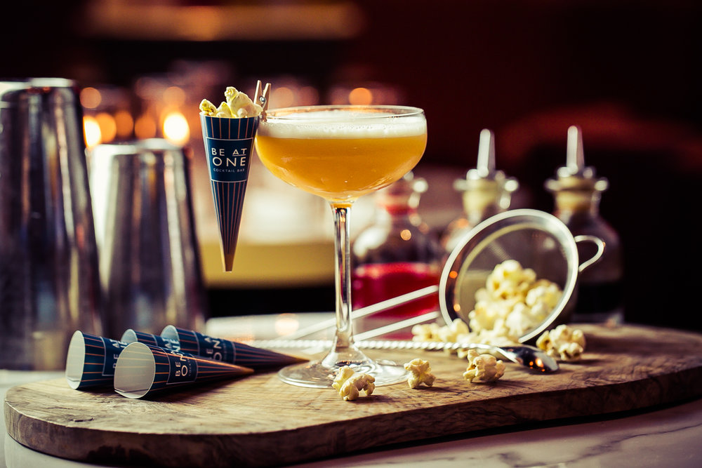 The Cinema Club cocktail created for Be At One