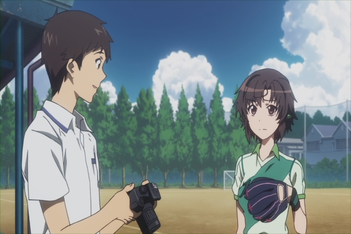 After taking up photography, Kazuya's once-average life improves substantially. (Photokano)