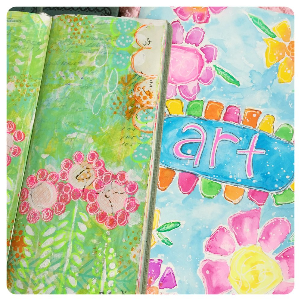 JunqueArt Art Journals