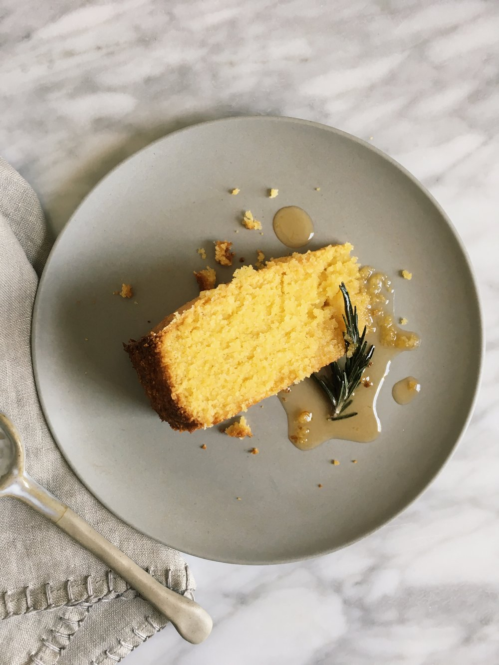 Recipe lemon polenta cake