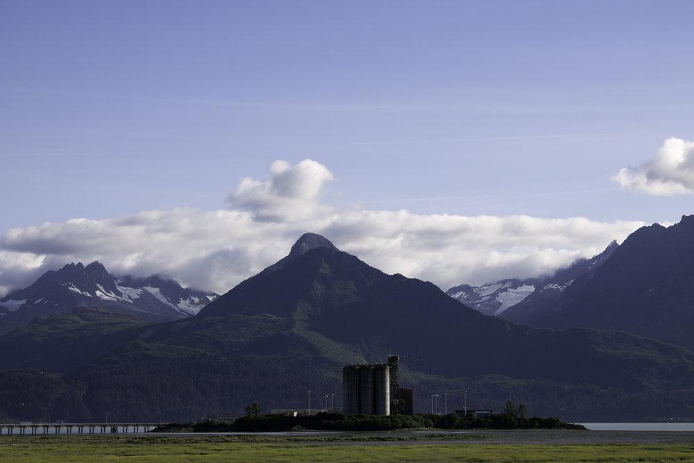 Ammunition Island, outside Valdez