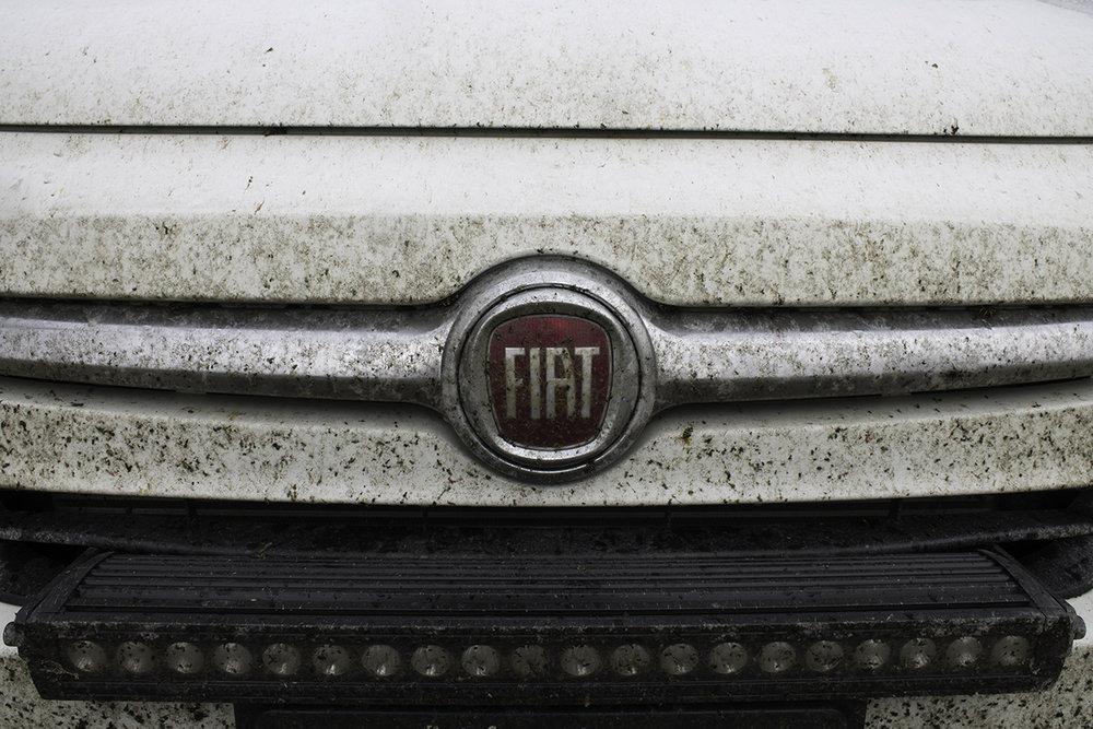 The car may need a wash soon...